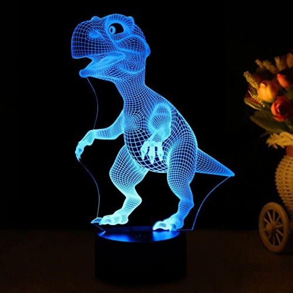 3D dinosaur night lamp 2