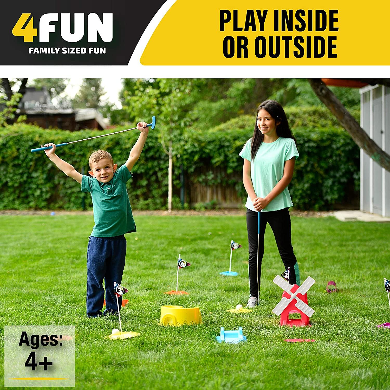 4 Fun Mini Golf Set 3