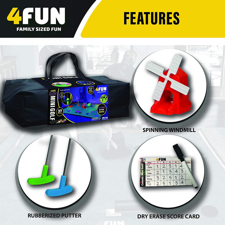 4 Fun Mini Golf Set 4