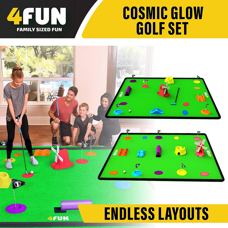 4 Fun Mini Golf Set 6