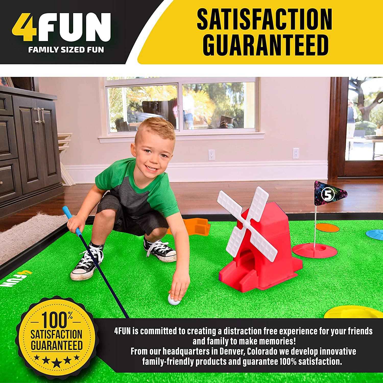 4 Fun Mini Golf Set 7