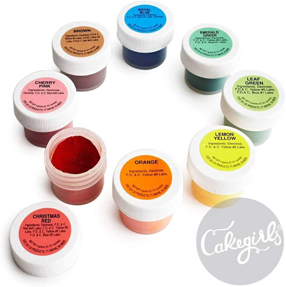 Cakegirls Food Coloring review