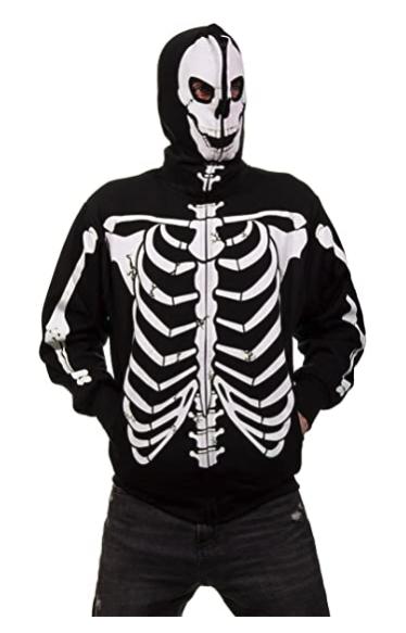 Calhoon Skeleton Glow in the Dark with hood review