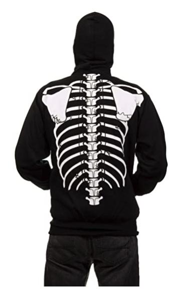 Calhoun Skeleton Glow in the Dark back