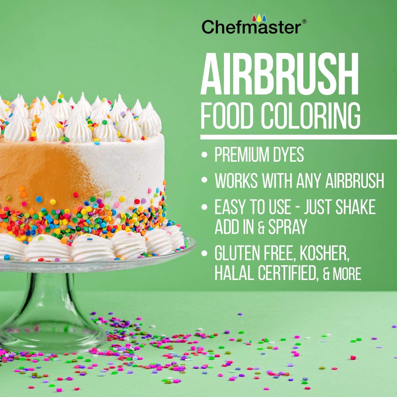 Chefmaster Air Brush Food Coloring 3