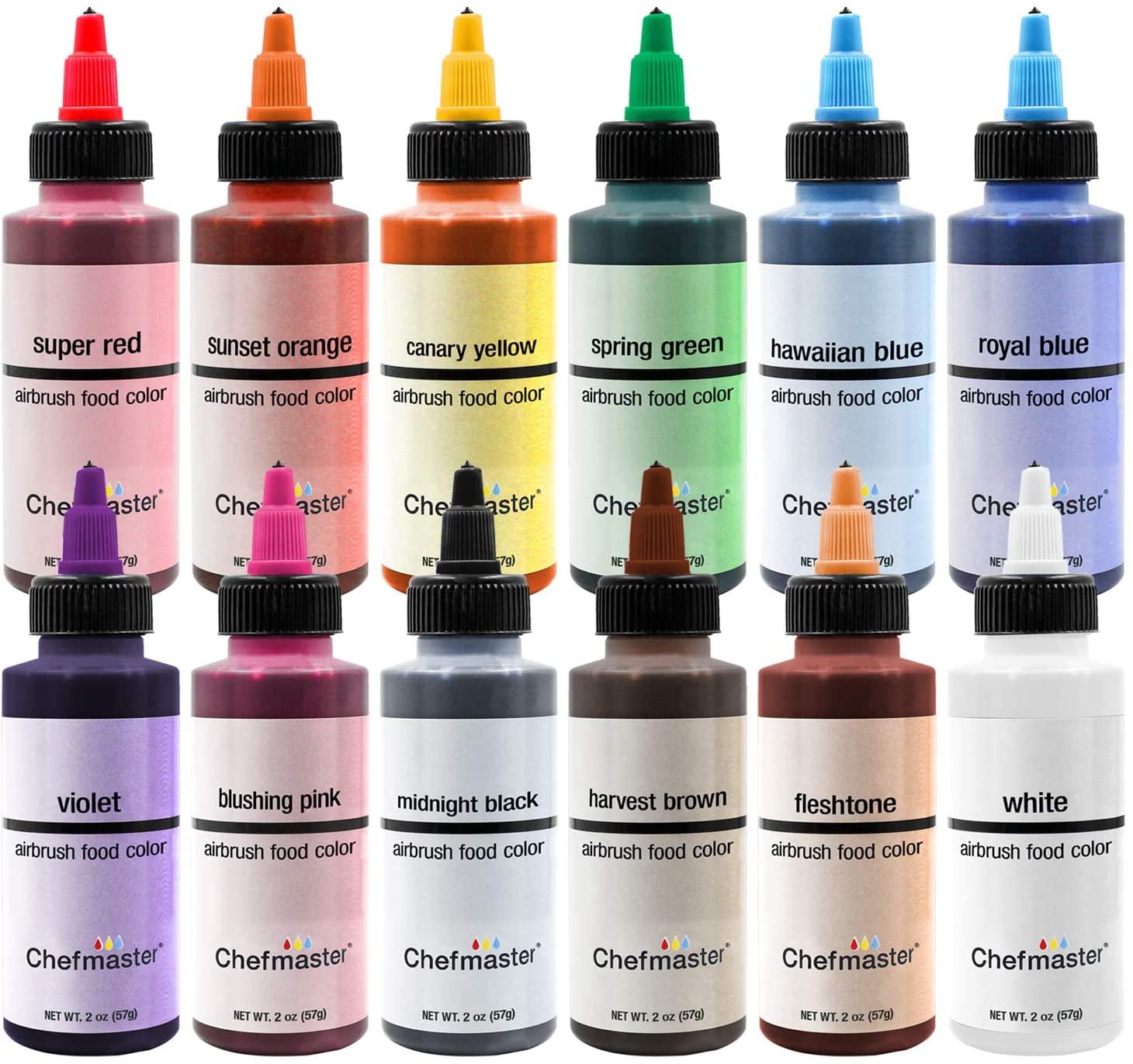 Chefmaster Air Brush Food Coloring review