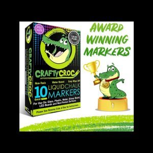 Crafty Croc liquid chalk markers review