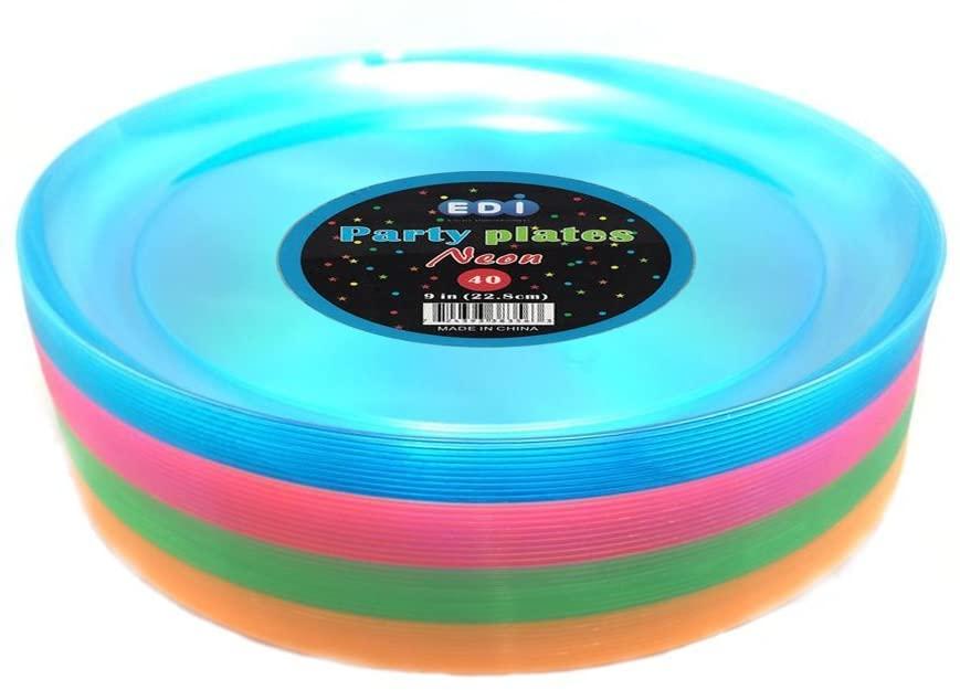 EDI hard plastic plates review
