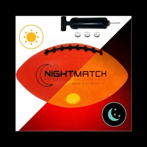 Glow in the dark football nightmatch