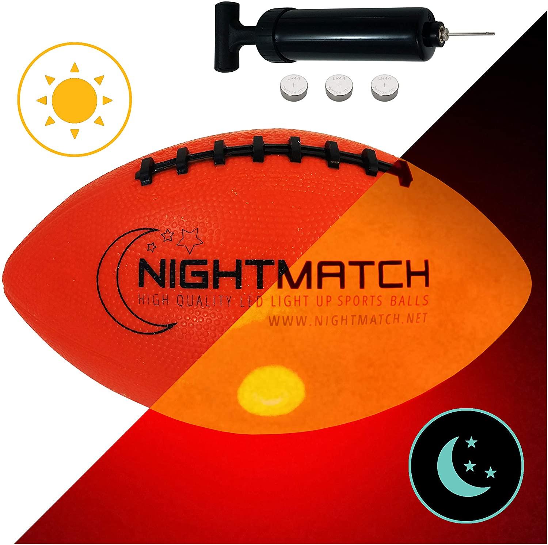 Glow in the dark football nightmatch 1