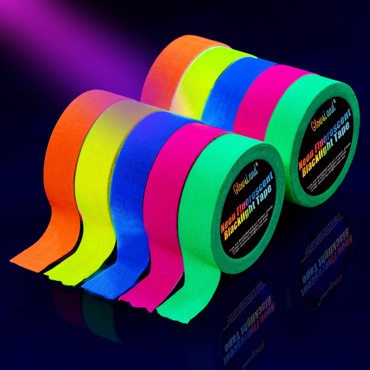 Glowsland Blacklight Party Tape review
