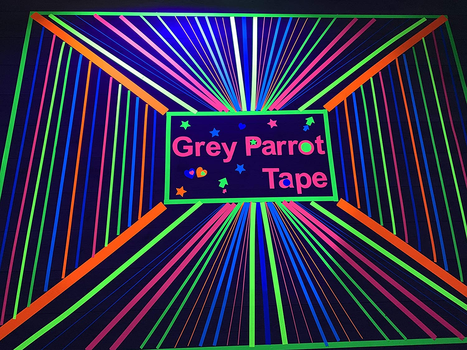 GreyParrot Blacklight Party Tape 5
