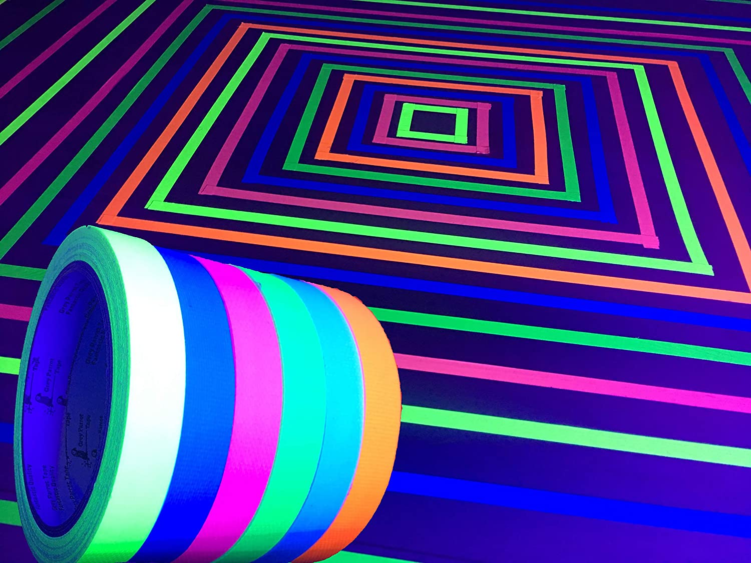 GreyParrot Blacklight Party Tape review