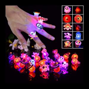 Halloween glowing rings