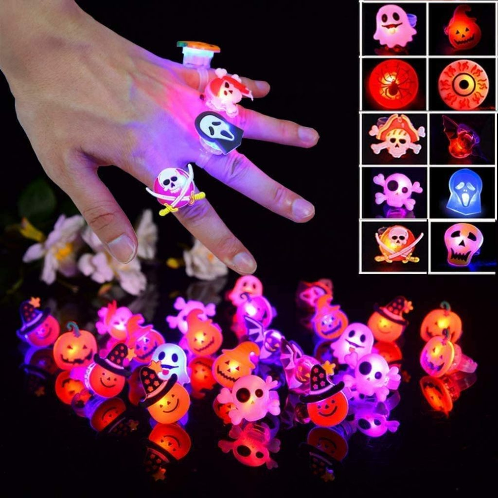 Halloween glowing rings 1
