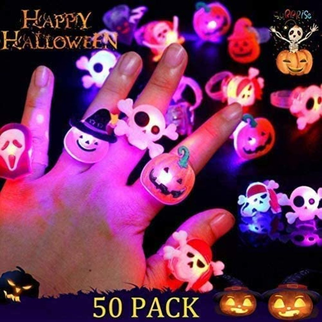 Halloween glowing rings 3
