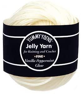 Jelly Yarn glow in the dark yarn review