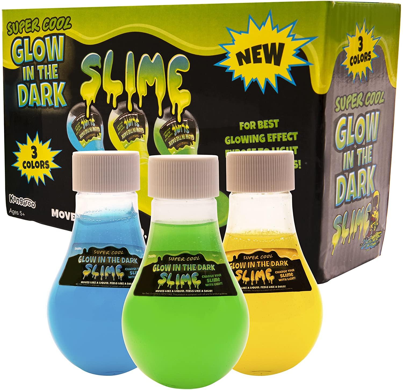 Kangaroos Super Cool glow in the dark slime 2