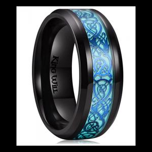 King Will Aurora glowing ring