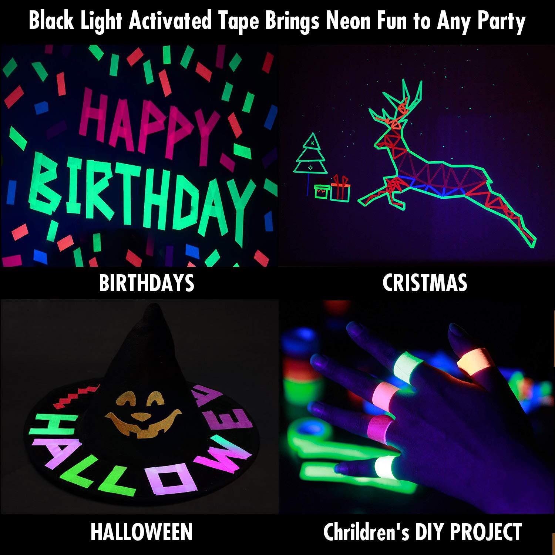 Kiwihub Blacklight Party Tape 2