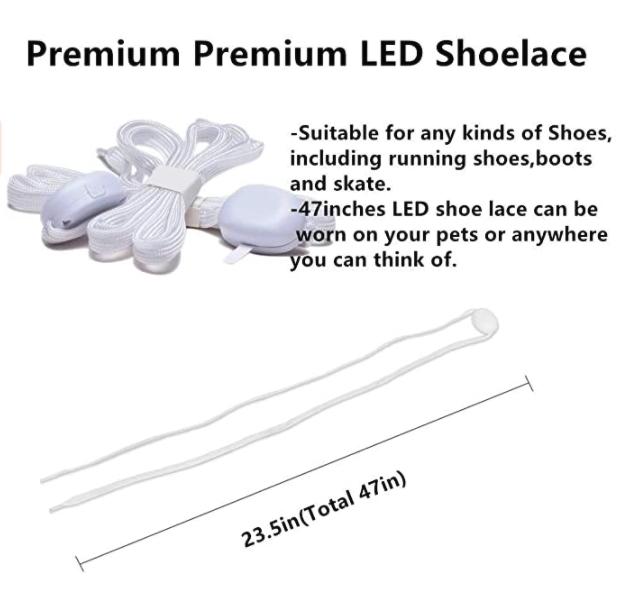 LKDEPO LED shoe laces 3