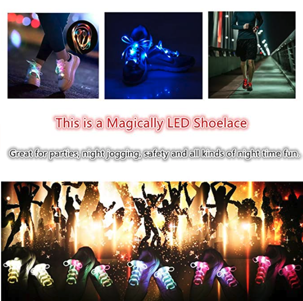 LKDEPO LED shoe laces 5