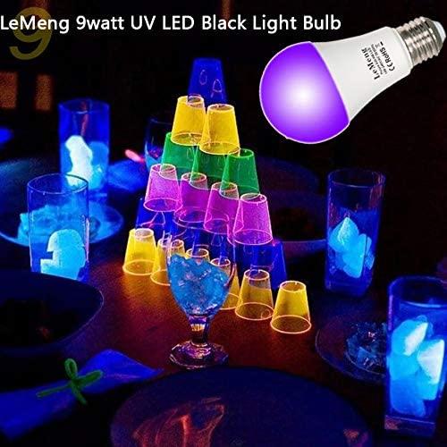 LeMeng LED Black Light Bulbs 3