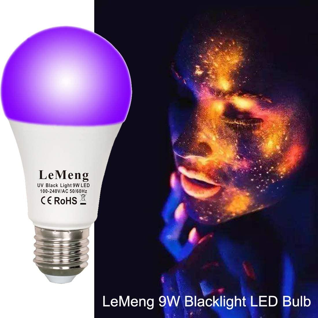 LeMeng LED Black Light Bulbs 4