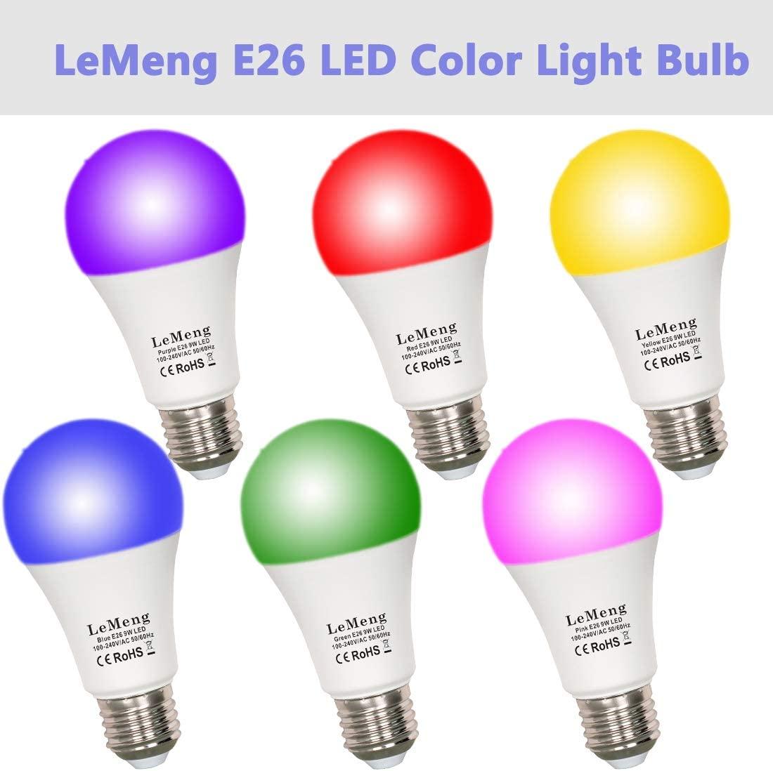 LeMeng LED Black Light Bulbs 5