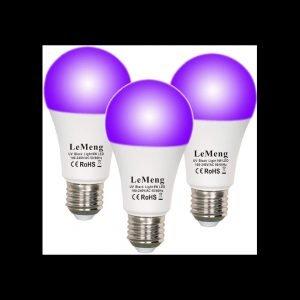 LeMeng LED Black Light Bulbs review