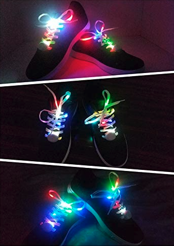 Lihai multicolor LED shoe laces 5