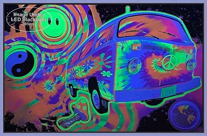 Magic Bus Blacklight poster 2