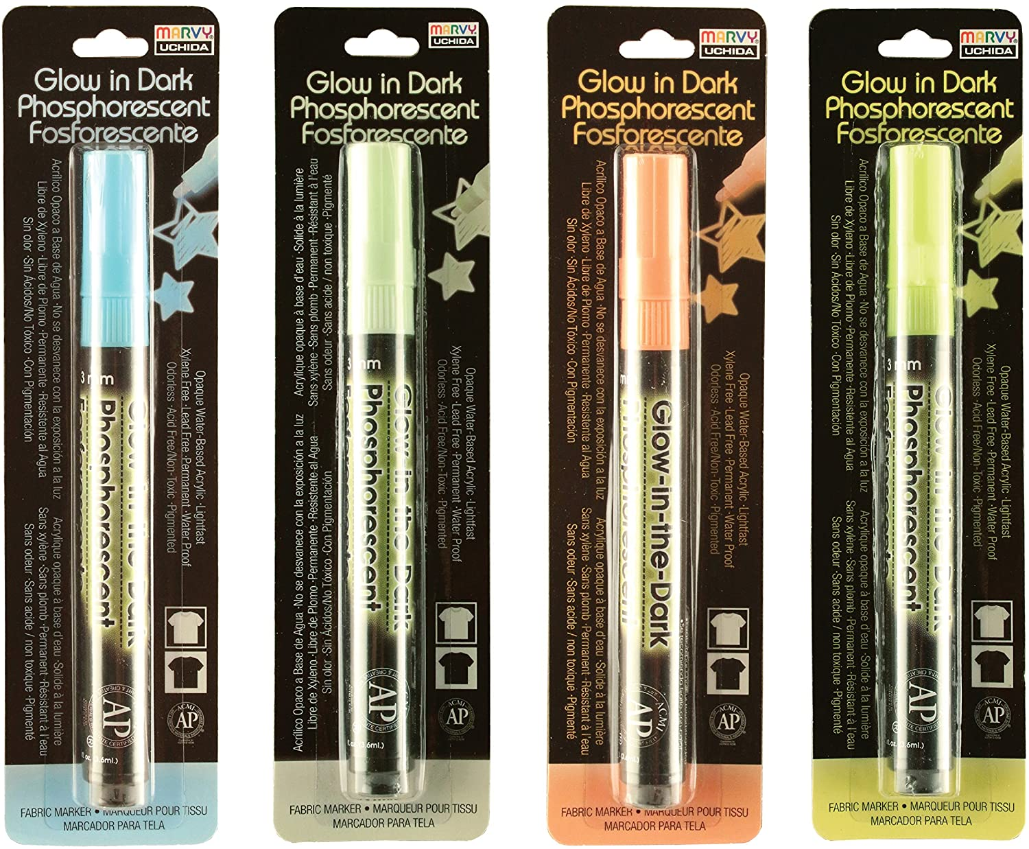 Marvy Uchida Fabric Markers review