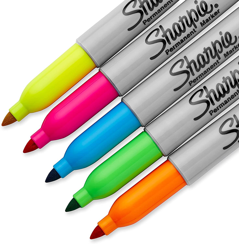Neon Sharpies 3