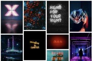 Pexels Neon Backgrounds
