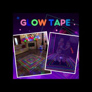 Plazala Glow in the Dark Party Tape review