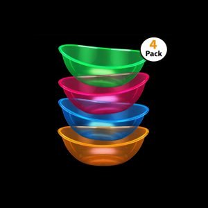 Set of 4 neon bowls review