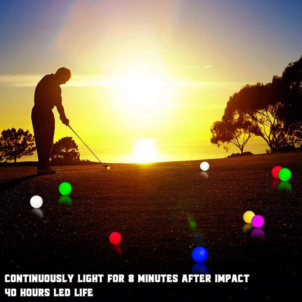Thiodoon Glow Golf Balls 3