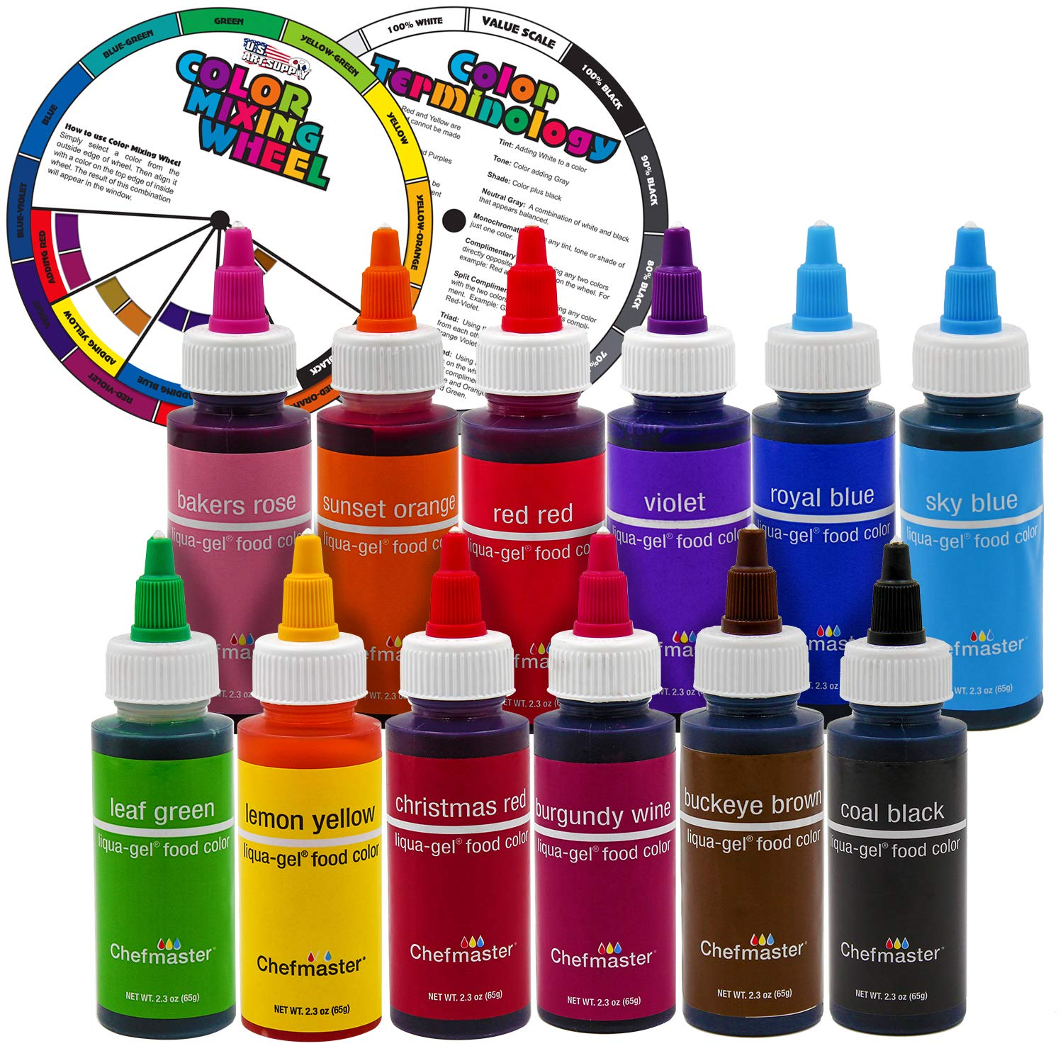 US Cake Supply Food Coloring review