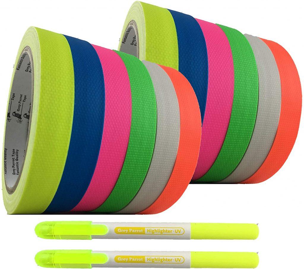 UV reactive tape