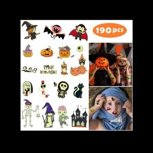 Yafeite Halloween Tattoos review