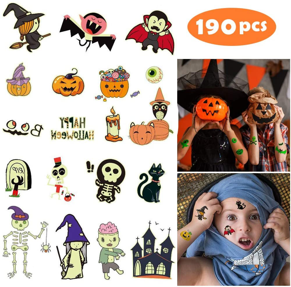 Yafeite Halloween tattoos review