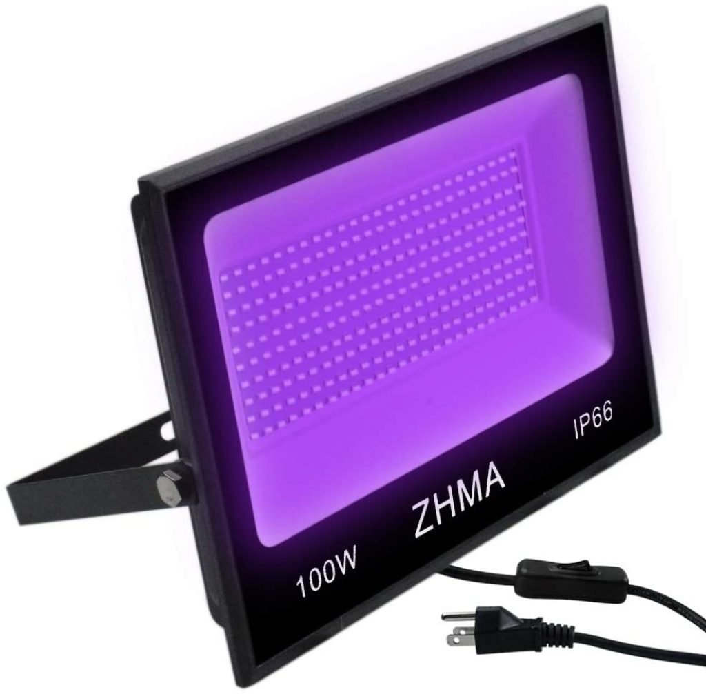 ZHMA Black Light Bulbs Stage Lamp review
