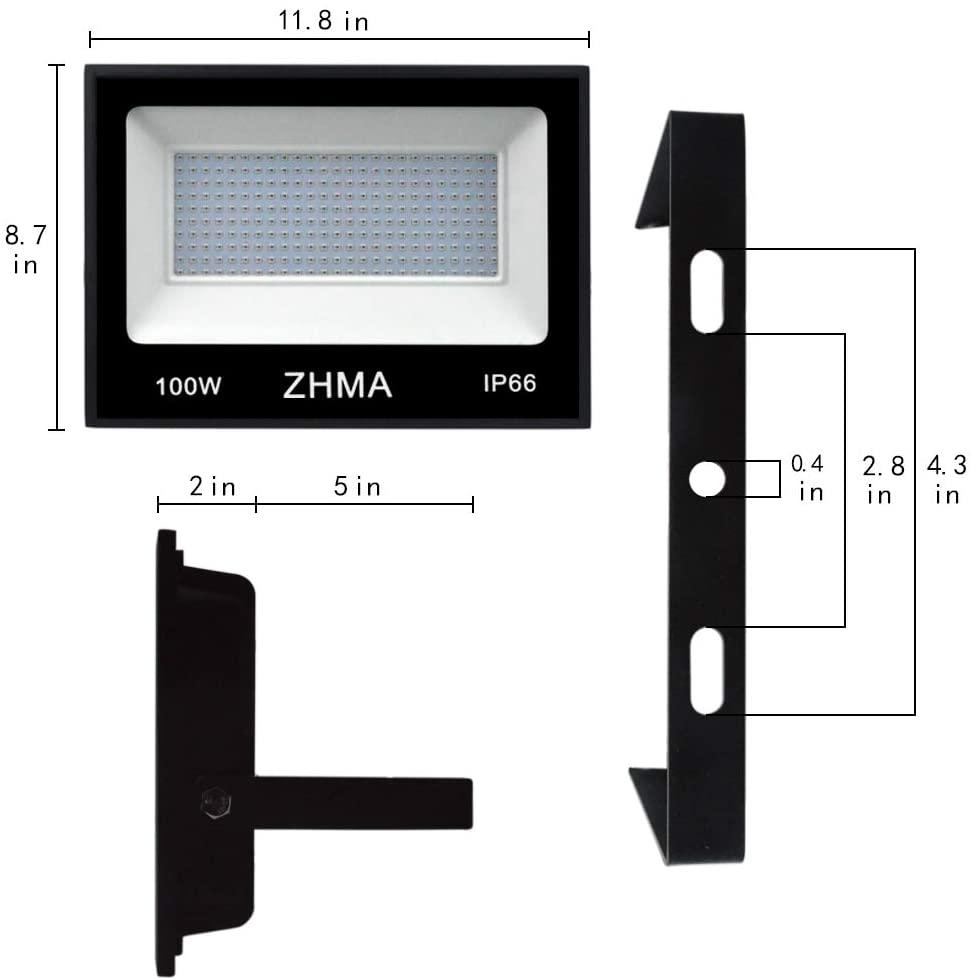 ZHMA Black Light Bulbs Stage Light 2
