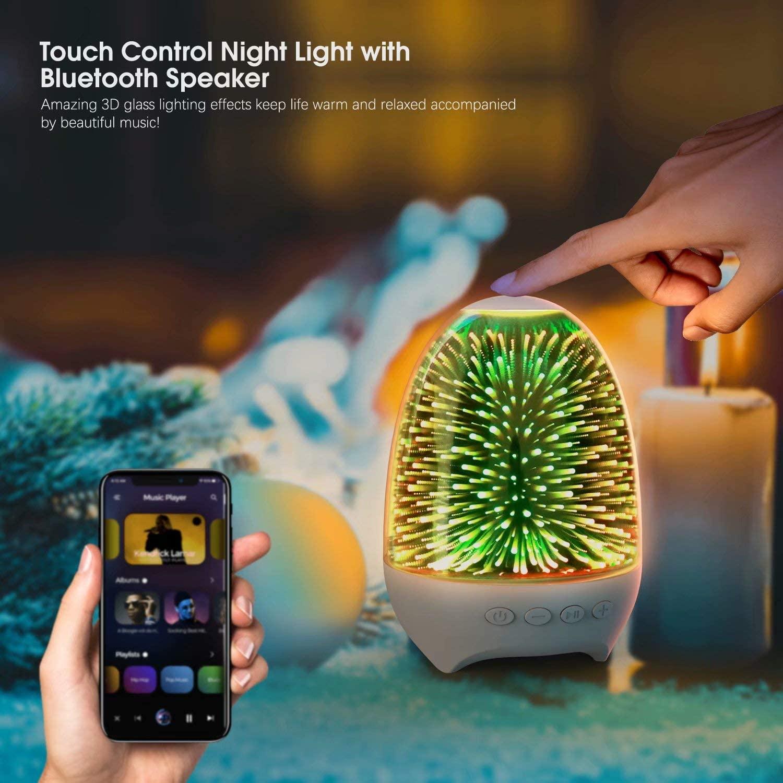 aiscool night light bedside lamp 2