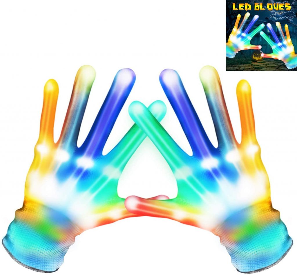flashing led gloves glow in the dark cia