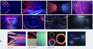 freepik neon backgrounds
