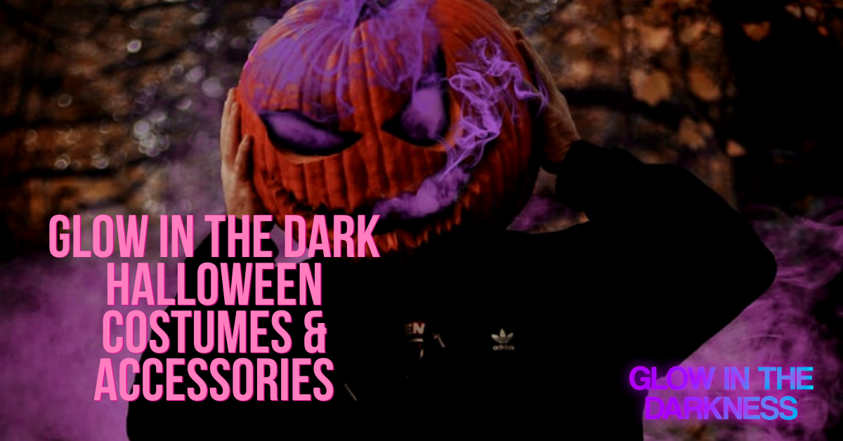 glow in the dark halloween costumes and accessories
