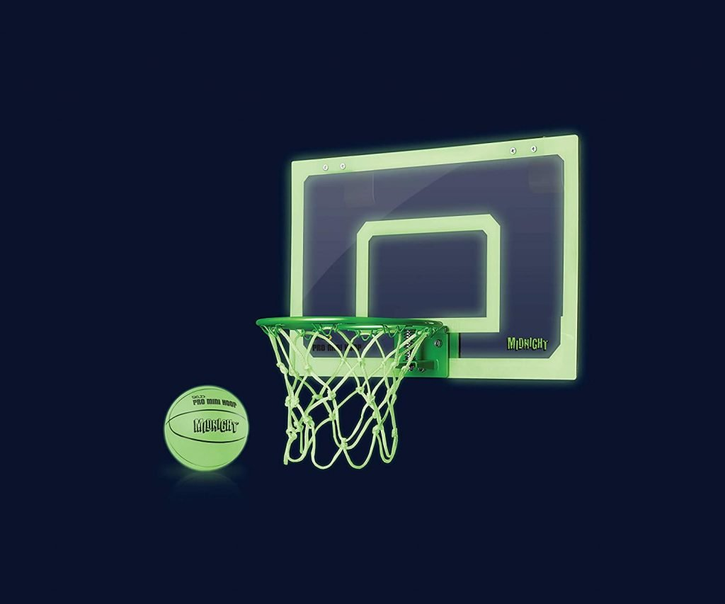 glow in the dark mini basketball hoop 2