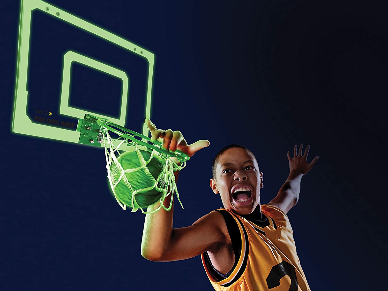glow in the dark mini basketball hoop 3